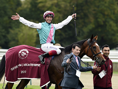 Dettori ready to break Arc stat