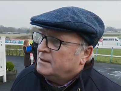 Owner Phil Martin on his star horses