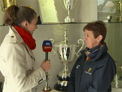 Talking Chester's historic silverware