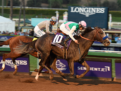 Breeders' Cup Tipping Challenge Result