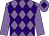 Mauve body, purple diamonds, mauve arms, mauve cap, purple diamond (Pl Ricotta)