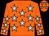 Orange, light blue stars (The Futures Bright Partnership)