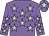 mauve, silver stars, silver star on cap (L Marinopoulos Et Al)