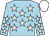Light blue, white stars, white cap (Frank Hogan)