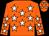 Orange, white stars (Ring Of Fire)
