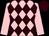 Pink and brown diamonds, pink sleeves, brown cap (John Finch & The Rockbourne Partnershi)