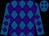 Royal blue & purple diamonds (Return Of Leaders Syndicate)