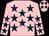 Pink, dark blue stars (Rich Poor Syndicate)