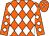 Orange, White Diamonds (Samuel Henderson)