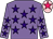 Mauve with purple stars, rose star on pink cap (Kenneth Wu Pak Kei)