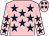Pink, dark blue stars (Rich Poor Syndicate)
