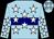 Light Blue, Navy Blue Hoop, White Stars,stars On Slvs (Mike Johnson)