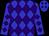 Blue & purple diamonds (William Hartwell)