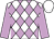 White and lilac diamonds, lilac sleeves, white cap (Flavor Racing, Brous Stable, Wachtel Stable And Destiny Oaks Of Ocala Llc)