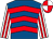 Royal blue, red chevrons, white and red striped sleeves, red and white quartered cap (Mr Andrew Tinkler)