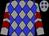 Grey, blue diamonds, maroon chevrons on sleeves (Hernandez, Earl And Keith)