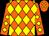 Orange, yellow diamonds (Jerry Ray)