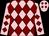 Pink, maroon diamonds (Slaton, Carroll And Hanson, Barbara Hudson)