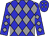 Blue and grey diamonds (Legacy Thoroughbreds Llc)