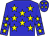 Blue, yellow stars, yellow stars on sleeves (Ronald Allen, Sr)