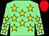 Light green, yellow stars, red cap (Sean Thomas Doyle)