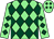 Light green and dark green diamonds (Frank Gillespie & Pat Breslin)