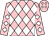 Pink and white diamonds (Rockview Racing Club)
