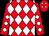 Red, white diamonds, white diamonds on sleeves (Wilby, Langdon And Reis, Mary Beth)