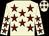 Beige, maroon stars (Keighley Racing Limited)
