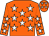 Orange, white stars (Ring Of Fire & Partner)