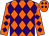 Orange, purple diamonds (Frank Irvin)