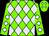 Neon Green,  Lavender Diamonds (Veronica Worth)