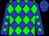 Blue, green diamonds (Steve Henry)