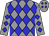 Grey, blue diamonds (Sanders, Wayne And Hirsch, Larry)