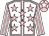 White,pink seams, pink stars, Striped sleeves, Pink cap, White star (Mme S Vollmer)
