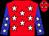 Red, White Stars, White Stars on Blue Sleeves (Pete Scarmardo)