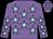 Mauve, light blue stars (The Stewkley Shindiggers Partnership)