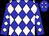 Blue, white diamonds (Zvi Kriple)