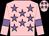 Pink, mauve stars and armlets (Mr Mel Mathias)