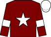 Maroon, white star and armlet, white cap (Gigginstown House Stud)