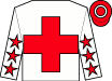 White, red cross, red stars on white sleeves, white hoop on red cap (Anthony Cheung Hin Shun)