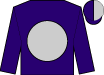 Purple, silver ball, purple and silver halved cap (That's Amore Stable And Terranova, Ii, John P)