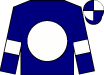 Navy blue, martini glass on white ball on back, white bars on right sleeve, navy blue and white cap (Miller, Lynn And Tom And Prichard, Pete)