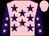 Pink, purple stars, purple sleeves, pink stars and cap (Mr Wayne Smith)