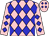 Pink, blue diamonds (Tri County Stables)