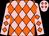 Pink, orange diamonds (Marsha Downing)