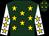 Hunter green, gold stars, gold stars on white sleeves (Palmer, Teresa And Palmer, David J)