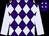 Purple and lavender diamonds, lavender slvs (Harold Lerner Llc)