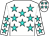 White, turquoise stars (Southwest Racing Stables And Lewis, Steve H)