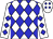 White, Blue Diamonds (Rancho Viejo And Baze, Lisa)